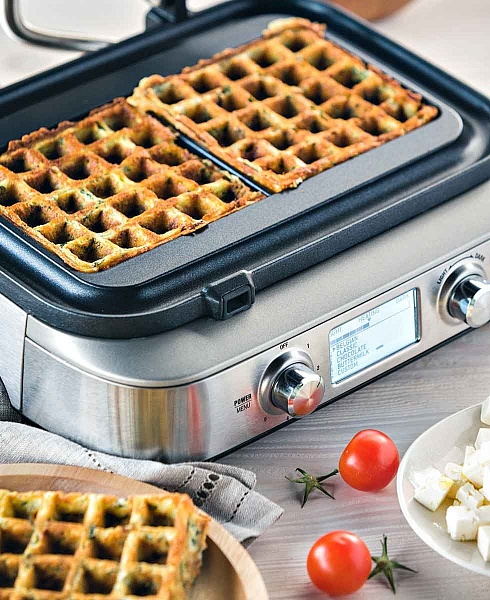 рецепт вафель для электровафельницы борк